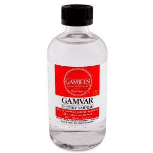 GAMBLIN 4 OZ GAMVAR PICTURE VARNISH
