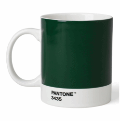 PANTONE MUGG DARK GREEN 3435