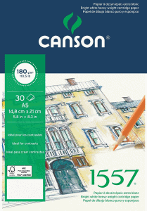 CANSON RITBLOCK 1557 LIMMAT A5