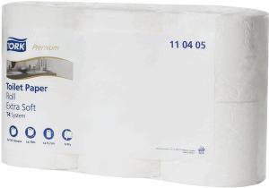 TOALETTPAPPER TORK PREMIUM SOFT, 6 RL/FP