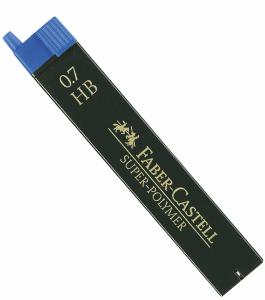 FABER CASTELL BLYERTSSTIFT 0,7MM, HB