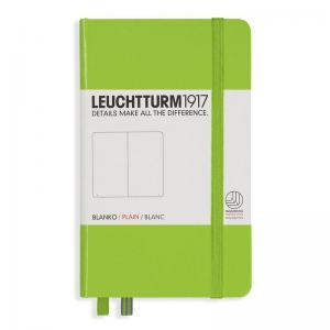 LEUCHTTURM POCKET OLINJERAD, LIME
