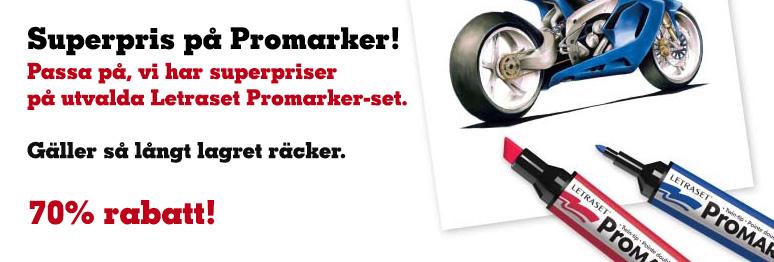 Superpris på Promarker-set