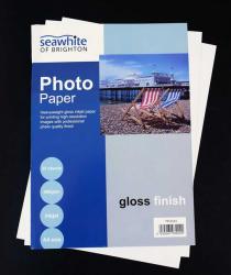 SEAWHITE FOTOPAPPER PHOTO GLOSSY A4 25 STYCKEN