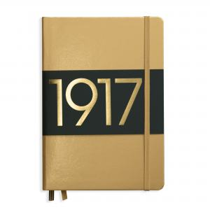 LEUCHTTURM METALLIC EDITION MEDIUM LINJER GOLD 1917