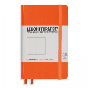 LEUCHTTURM POCKET PRICKAD, ORANGE