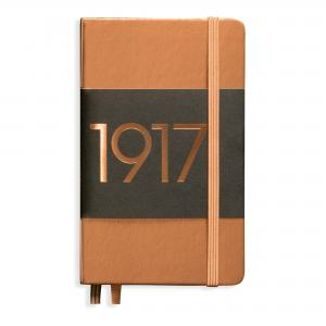 LEUCHTTURM METALLIC EDITION POCKET LINJER COPPER 1917