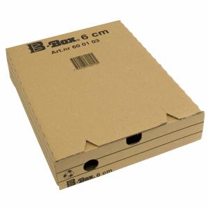 ARKIVBOX A4 8CM WELL BRUN