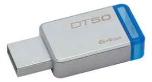 KINGSTON USB MINNE DT50 64GB