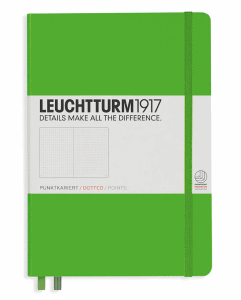 LEUCHTTURM MEDIUM PRICKAD, FRESH GREEN