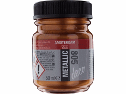 AMSTERDAM METALLIC DECO 50ML