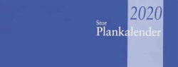STOR PLANKALENDER 2020, LIMBUNDEN, BURDE