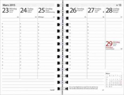 KALENDER 2020 PRESTIGE, REFILL, BURDE