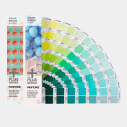 PANTONE PLUS FÄRGKARTA COLOR BRIDGE 2-SET C/U GP1602N