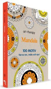 BOK: MÅLARBOK: MANDALA 100 MOTIV - VARVA NER, MÅLA OCH NJUT