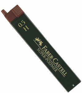 FABER CASTELL BLYERTSSTIFT 0,5MM, H