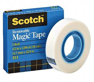 SCOTCH MAGIC DOKUMENTTEJP 811