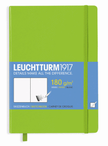 LEUCHTTURM SKETCH MEDIUM, LIME