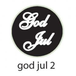 SIGILLSTÄMPEL GOD JUL 2