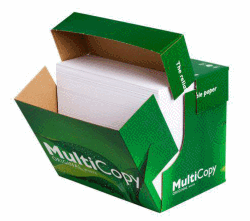 MULTICOPY KOPIERINGSPAPPER EXPRESSBOX 80 GRAM A4 OHÅLAT 2500 ARK