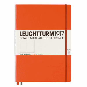 LEUCHTTURM MASTER SLIM PRICKAD, ORANGE