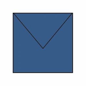 KVADRATISKA KUVERT, JEANS BLUE