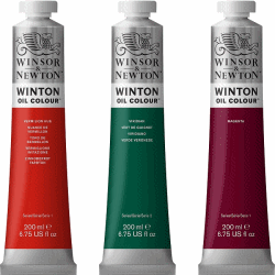 WINSOR & NEWTON WINTON OLJEFÄRG 200ML