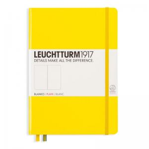 LEUCHTTURM MEDIUM OLINJERAD, LEMON