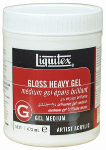 LIQUITEX GLOSS HEAVY GEL 237 ML