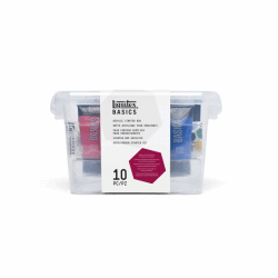 LIQUITEX BASICS ACRYLIC STARTER BOX SET