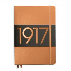LEUCHTTURM METALLIC EDITION MEDIUM BLANK COPPER 1917