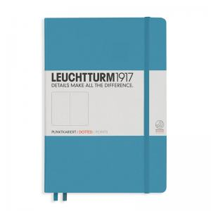 LEUCHTTURM MEDIUM PRICKAD, NORDIC BLUE