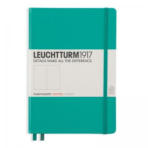 LEUCHTTURM MEDIUM PRICKAD, EMERALD