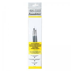 FOUNDATION PENSELSET NO 3