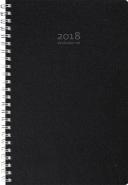 VECKOJOURNAL ECO LINE 2018, SVART