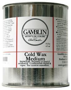 GAMBLIN 4 OZ. COLD WAX MEDIUM