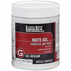 LIQUITEX MATTE GEL MEDIUM 473 ML