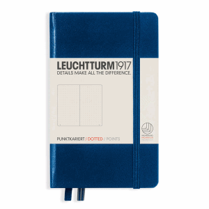 LEUCHTTURM POCKET PRICKAD, NAVY