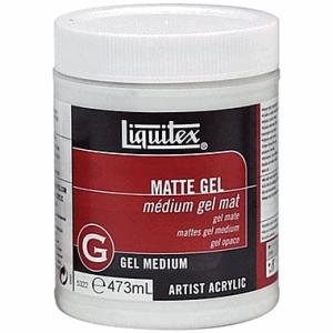 LIQUITEX MATTE GEL MEDIUM 473 ML