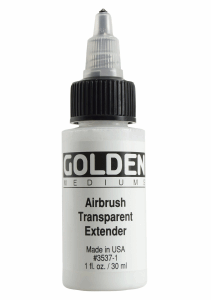 GOLDEN AIRBRUSH TRANSPARENT EXTENDER 3537