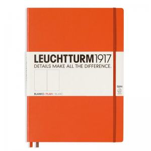 LEUCHTTURM MASTER SLIM OLINJERAD, ORANGE