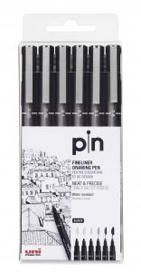 UNI-PIN FINELINER 6-SET
