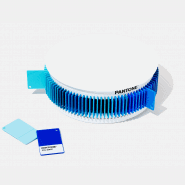 PANTONE PLASTIC STANDARD CHIP COLOR SET BLUE