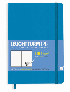 LEUCHTTURM SKETCH MEDIUM, AZUR