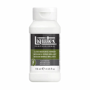 LIQUITEX GLOSS MEDIUM & VARNISH 118ML