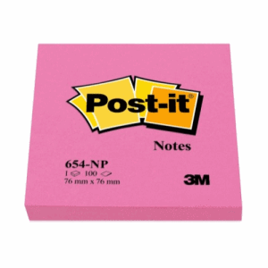 POST-IT 76X76MM, CERISE
