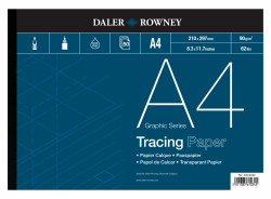 DALER & ROWNEY TRACING PAPER 90G, A4