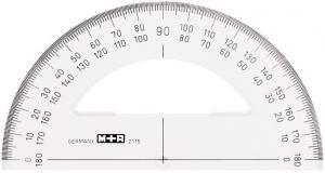 M+R GRADSKIVA 10CM, 180 GRADER