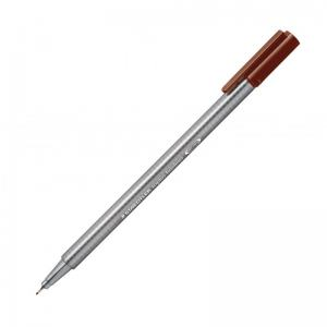 TRIPLUS FINELINER DARK BROWN