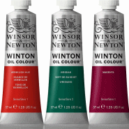 WINSOR & NEWTON WINTON OLJEFÄRG 37ML BURNT SIENNA 074